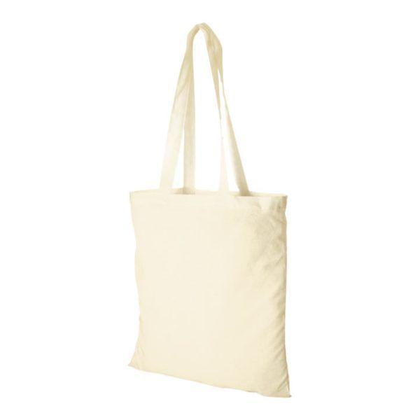 80b553a48 Bolsa Tote Bag de Tela 100% Algodón Ecológico de Asa Larga - Desde 0 ...